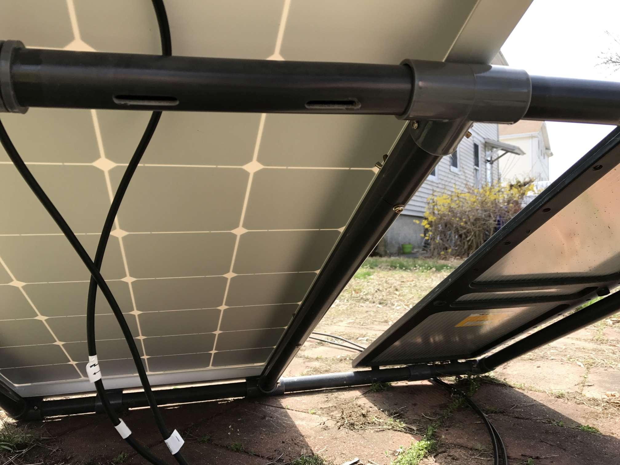 Harbor Freight 100 Watt Solar Panel Setup Solar Power