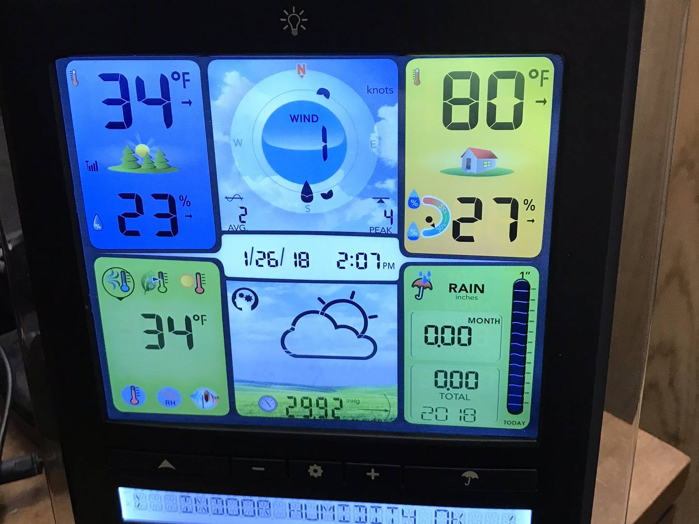My AcuRite Home Weather Station Install